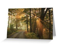 Autumn Is Down The Road Greeting Card