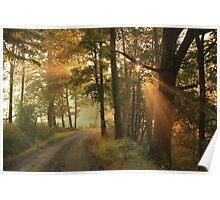 Autumn Is Down The Road Poster