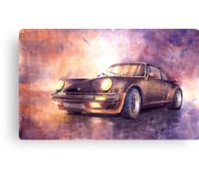Porsche 911 Turbo 1979 Canvas Print