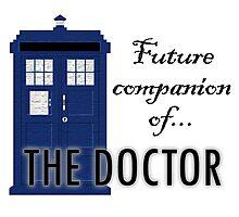 Future Companion of The Doctor Photographic Print