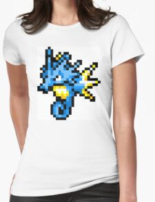 Pokemon 8-Bit Pixel Seadra 117 Womens Fitted T-Shirt