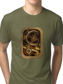 Mechanical Heart - Steampunk Tri-blend T-Shirt