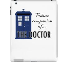 Future Companion of The Doctor iPad Case/Skin