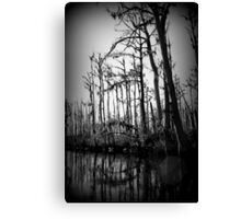 Hollow Night Canvas Print