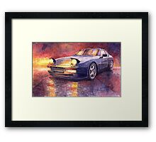 Porsche 944 Turbo 1987 Framed Print