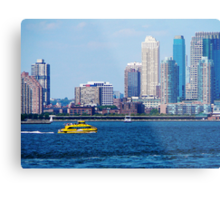 New York Water Taxi Metal Print