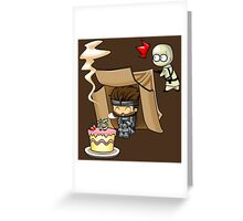 Metal Gear Solid - 15th Anniversary Greeting Card