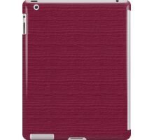 Anemone Wood Grain Texture Color Accent iPad Case/Skin