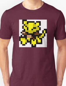 Pokemon 8-Bit Pixel Abra 063 T-Shirt