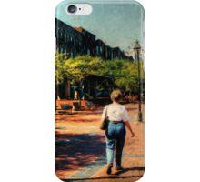 Riverfront Stroll iPhone Case/Skin