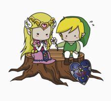 Zelda X Link Baby Tee