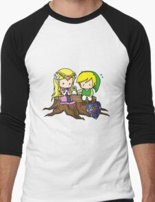 Zelda X Link Men's Baseball ¾ T-Shirt