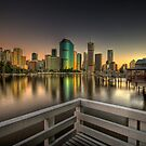 On The Boardwalk - Brisbane by Chris Lofqvist