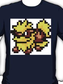 Pokemon 8-Bit Pixel Arcanine 059 T-Shirt
