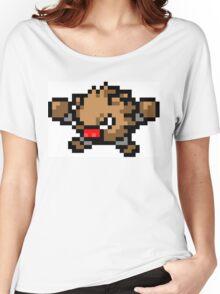 Pokemon 8-Bit Pixel Primeape 057 Women's Relaxed Fit T-Shirt