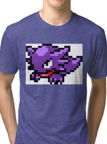 Pokemon 8-Bit Pixel Haunter 093 Tri-blend T-Shirt