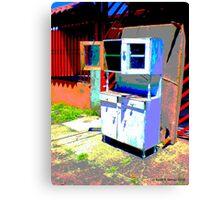 hutch de calle Canvas Print