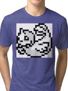 Pokemon 8-Bit Pixel Dewgong 087 Tri-blend T-Shirt