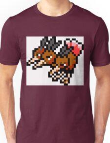 Pokemon 8-Bit Pixel Dodrio 085 Unisex T-Shirt