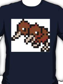 Pokemon 8-Bit Pixel Doduo 084 T-Shirt