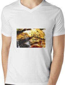 Canyon Mens V-Neck T-Shirt