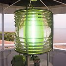 Fresnel Lens, West Point Lighthouse, PEI, Canada by Kenneth Keifer