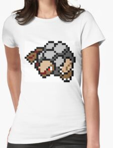 Pokemon 8-Bit Pixel Golem 076 Womens Fitted T-Shirt