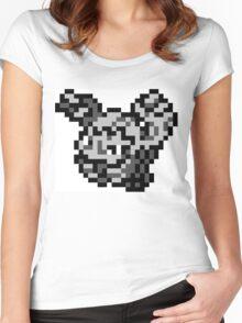 Pokemon 8-Bit Pixel Graveler 075 Women's Fitted Scoop T-Shirt