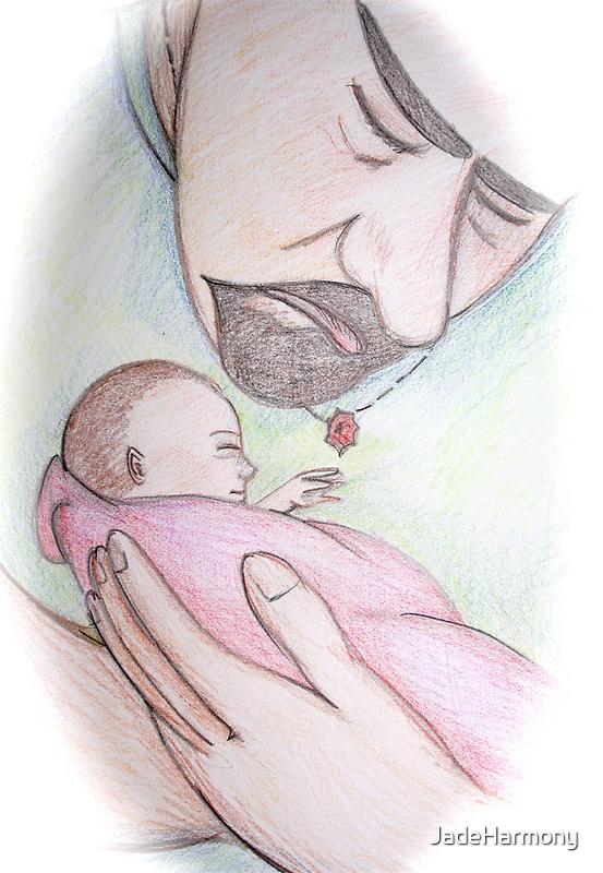 A Father's First Embrace by JadeHarmony