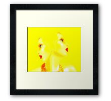 Glamour Framed Print