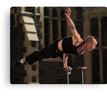 One Hand Balance Canvas Print