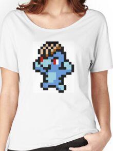 Pokemon 8-Bit Pixel Machop 066 Women's Relaxed Fit T-Shirt