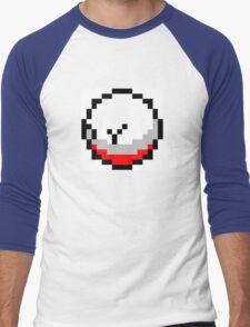 Pokemon 8-Bit Pixel Electrode 101 Men's Baseball ¾ T-Shirt