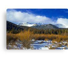 A Colorado Winter  Canvas Print