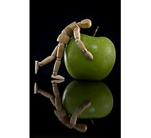 I Luv My Mac Photographic Print