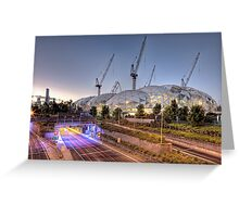Melbourne Rectangular Stadium • Melbourne • Victoria Greeting Card