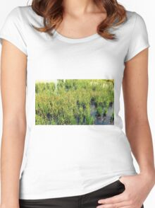 Wild Natural Beauty Women's Fitted Scoop T-Shirt