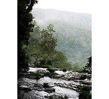 Springbrook Cliffs Photographic Print