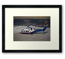 Agusta Westland AW139 Helicopter Framed Print