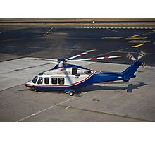 Agusta Westland AW139 Helicopter Photographic Print
