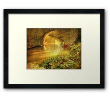 Golden Promise Framed Print