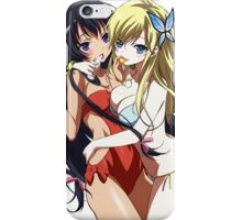 Just The Girl: Hugging Hotties iPhone Case/Skin