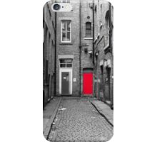 The Red Door iPhone Case/Skin