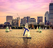 Sails, Boston, MA, USA by LudaNayvelt