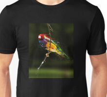 Splattered Bird Unisex T-Shirt