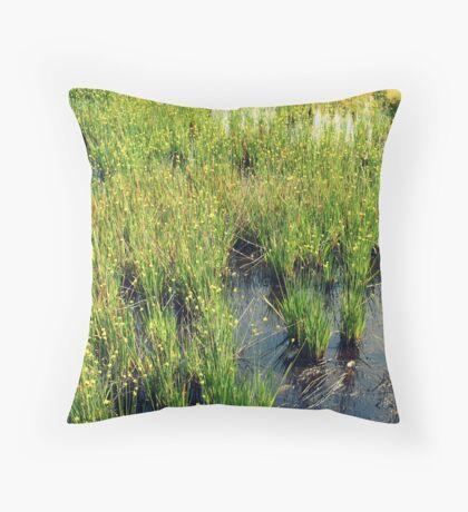 Green Natural Beauty Throw Pillow