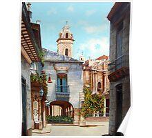 Catedral de La Habana Poster