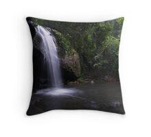 Buderim Falls Throw Pillow