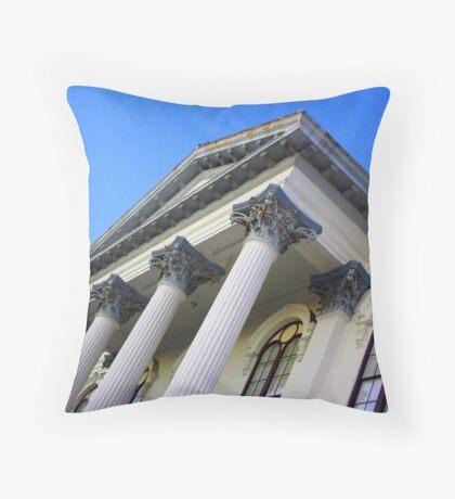Gothic architecture Throw Pillow