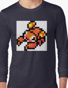Pokemon 8-Bit Pixel Para 046 Long Sleeve T-Shirt